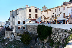 Old town of Guadalest. Spain Royalty Free Stock Photography