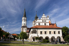 Old town-hall Stock Photo