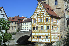 Old town hall 3. The Alte rathaus (Old Town hall ) in Bamberg Germany Stock Photos