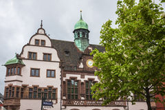 Old Town Hall (Altes Rathaus) in Freiburg im Breisgau, Germany Royalty Free Stock Photo