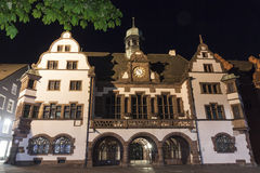 Old Town Hall (Altes Rathaus) in Freiburg im Breisgau, Germany Stock Photo