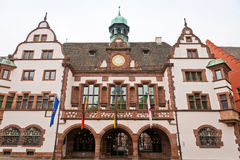 Old Town Hall (Altes Rathaus) in Freiburg im Breisgau, Germany Royalty Free Stock Images