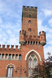 Old town hall of Asti, Italy. Medieval historic centre of Asti, Italy Stock Photography