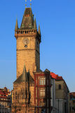 Old Town Hall with Astronomical Clock, Prague Stock Photo