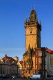 Old Town Hall with Astronomical Clock, Prague Stock Photos
