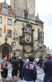 Old Town Hall and Astronomical Clock (Staromestska Radnice). Stock Photography