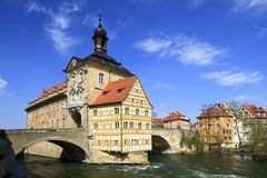 Old Town Hall, Bamberg Stock Images