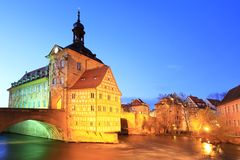 Old Town Hall in Bamberg Royalty Free Stock Photography