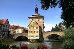 Old Town Hall Bamberg Royalty Free Stock Photography