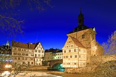Old Town Hall of Bamberg Royalty Free Stock Photography