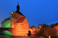 Old town hall in Bamberg Royalty Free Stock Photos