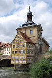 Old town hall Bamberg Royalty Free Stock Photos