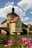 Old Town Hall Bamberg stock photography