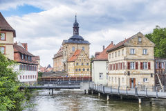 Old town hall in Bamberg Bavaria Stock Photos