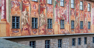 The old town-hall of Bamberg in Bavaria Royalty Free Stock Photos