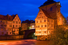 Old Town Hall in Bamberg, Germany Royalty Free Stock Photography