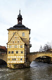 Old Town Hall in Bamberg Stock Image