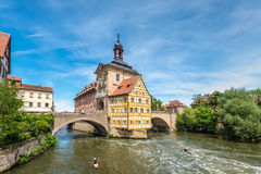 Old Town hall, Bamberg Stock Photo