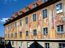 Old town hall Bamberg Stock Images