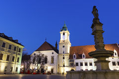 Old Town Hall in Bratislava Royalty Free Stock Photo