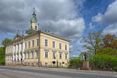 Old Town Hall Building in Pori, Finland Stock Images
