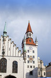 The Old Town Hall on the Central square of Munich and building 15th century. Munich, Germany Stock Photography