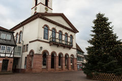 Old town hall in city #2. Seligenstadt Rhein Royalty Free Stock Image