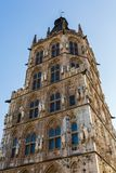 Old town hall in Cologne. Tower of the historic town hall in Cologne, Germany Stock Images