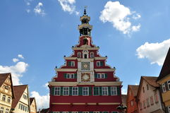 Old town hall in Esslingen,Germany Stock Photo