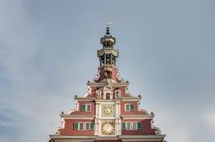 Old Town Hall in Esslingen Am Nechar, Germany Stock Photo