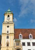 Old Town Hall on Main square in Bratislava, Slovakia. Royalty Free Stock Image