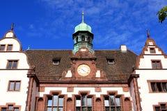 Old town hall, Freiburg. Old town hall in Freiburg im Breisgau, Germany Royalty Free Stock Photos