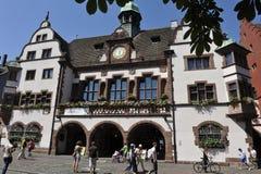 Old Town Hall, Freiburg im Breisgau, South-West Ge Stock Image