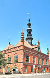 Old Town Hall in Gdansk, Poland Royalty Free Stock Photo