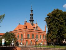 Old Town Hall in Gdansk Royalty Free Stock Photos