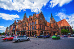 Old town hall in Hannover Stock Image