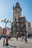 Old Town Hall with historic Astronomical clock Royalty Free Stock Photography
