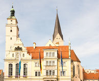 Old town hall of Ingolstadt Stock Images