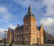 Old town hall and jail in Esbjerg, Denmark Stock Photography