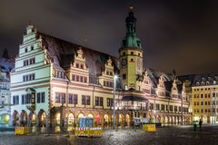 Old Town Hall Leipzig Stock Photo