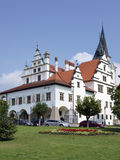 Old town hall in Levoca, Slovakia Royalty Free Stock Images