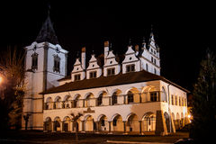 Old Town Hall in Levoca stock images
