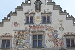 Old Town Hall of Lindau Royalty Free Stock Images