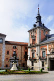 Old Town Hall, Madrid royalty free stock image