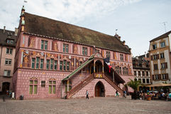 Old town hall in Mulhouse Stock Images