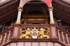 Old town hall in Mulhouse Royalty Free Stock Image