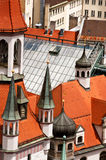 Old Town Hall in Munich, closeup Royalty Free Stock Photo