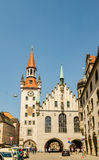 The Old Town Hall in Munich, Germany. MUNICH, GERMANY - JUNE 7, 2016: The Old Town Hall in Munich, Germany. Currently, in significant part of the building is Stock Images