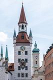 Old Town Hall in Munich Royalty Free Stock Photography