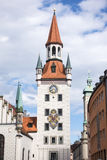 Old town hall of Munich Stock Photography
